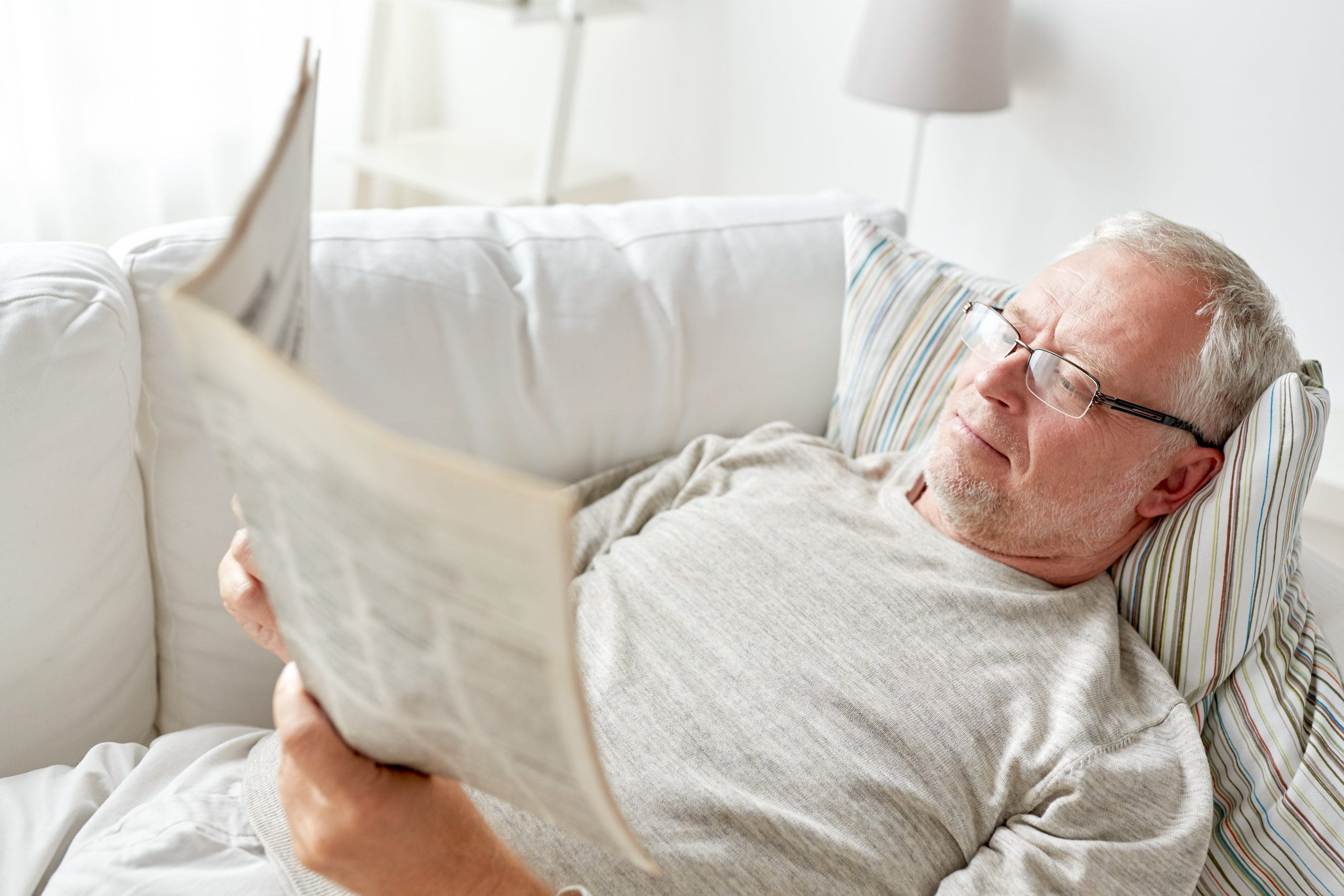 Persona leyendo